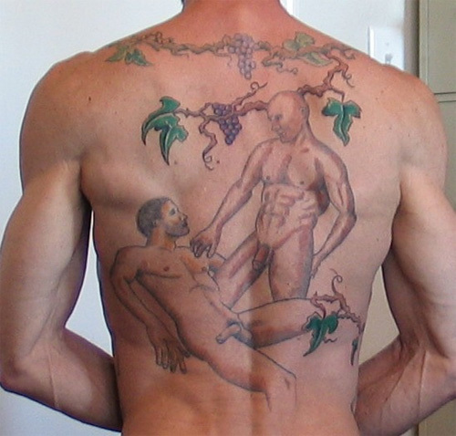 gay tattoos. Re: Tattoos O.o
